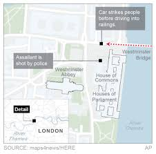 Counter Attack Under Cabinet Lights by Isis Claims Responsibility For Attack Near British Parliament