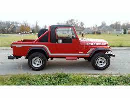 scrambler jeep years 1985 jeep cj8 scrambler for sale classiccars com cc 926395