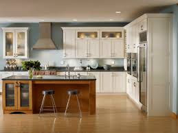 Thomasville Kitchen Cabinets Review Furniture Brown Cabinets By Kraftmaid Reviews With Tile