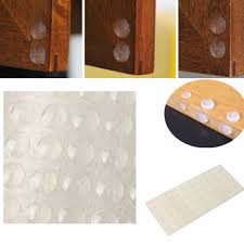kitchen cabinet door buffers 100pcs self adhesive rubber high quality feet clear semicircle