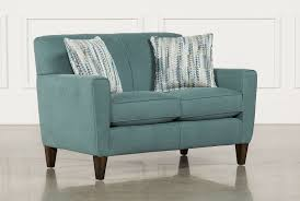 Aqua Leather Chair Love Seats Free Assembly With Delivery Living Spaces