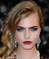 cara delevingne best hair makeup beauty looks