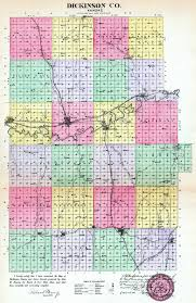 Kansas Counties Map Kansas History And Heritage Project Dickinson County Maps