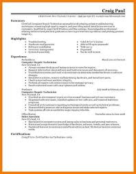 Service Technician Resume Sample Computer Service Technician Resume Sample Rapidlyheading Tk