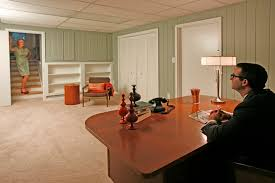 painted paneling in green another mid century modern