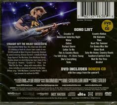 Southern Comfort Zone Brad Paisley Cd Life Amplified World Tour Live From Wvu Cd Dvd