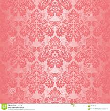 seamless pink wallpaper ornament with roses stock photos image