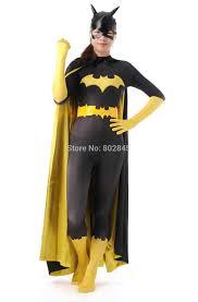 halloween full body suit the batgirl cosplay barbara gordon superhero zentai catsuit full