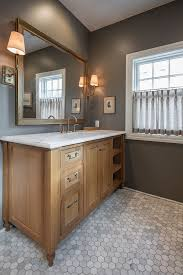 Floor Cabinet For Bathroom Best 25 Oak Bathroom Ideas On Pinterest Natural Small Bathrooms