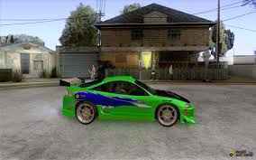 mitsubishi eclipse fast and furious mitsubishi eclipse fnf for gta san andreas