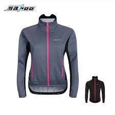 fluorescent cycling jacket sahoo women s winter long sleeve cycling jacket jersey bike bicycle