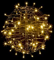 the aisle grapevine fold flat sphere light with 75 led