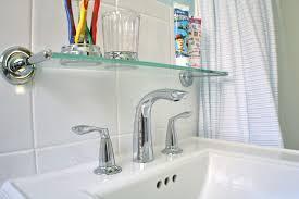 Sink Shelves Bathroom And Bathroom Renovation Whipstitch