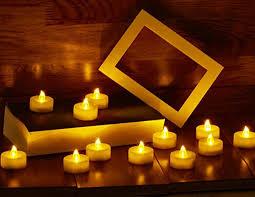 led tea lights battery life amazon com waynewon flameless led tea light candles battery warm