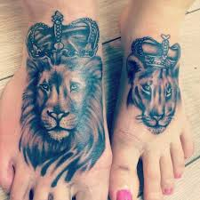 download king queen lion tattoo danielhuscroft com