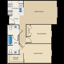 Lakeside Floor Plan Lakeside Terrace Senior Apartment Homes Winter Haven Fl