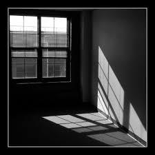 black and white window light light photography