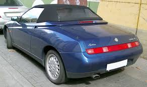 nissan spider file alfa romeo spider rear 20080318 jpg wikimedia commons