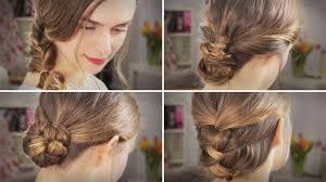 Hochsteckfrisurenen Lange Haare Leicht by Haare 4 Alltags Frisuren Flechtfrisuren Für Arbeit Uni