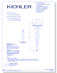 Kichler Lighting Company Kichler Lighting Electrical Cad Drawings Caddetails