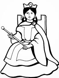 hd coloring pages printable coloring page queen in general style