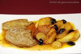 foie gras frais aux pommes et aux raisins d après alain ducasse