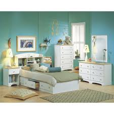 Bookcase Headboard White by South Shore Spark Full Size Bookcase Headboard In Pure White