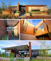 modern desert home design desert homes rustic modern earth wood steel desert arc