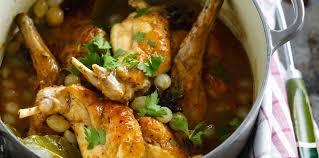 cuisiner le lapin en sauce lapin en sauce recette sur cuisine actuelle
