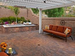 Paver Patios Hgtv by Paver Designs For Backyard Brick Paver Patios Hgtv Best Concept