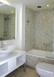 bathroom exciting tiny decor idea with mosaic shower bathroom exciting tiny decor idea with mosaic shower wall and freestanding sink vessel