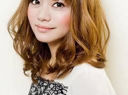 collarbone length wavy hair cute asian shoulder length bob hairstyles bangs for wavy hair
