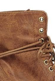 justfab s boots trilian in cognac get great deals at justfab