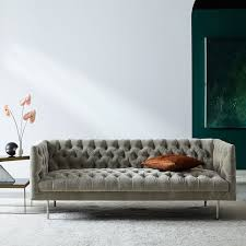 Sofas Chesterfield Modern Chesterfield Sofa 79 West Elm