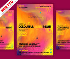free flyer designs happy new year party flyer free psd