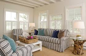 Striped Slipcovers For Sofas What Goes With A Striped Sofa