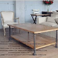 Old Wooden Coffee Tables by Hung American Retro Old Wood Coffee Table European Style Coffee