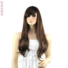 wigs for square faces yiwu girls long curly hair wig scroll fluffy qi liu volumes in the