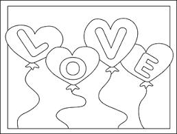 valentine coloring cards free printable valentine cards kids