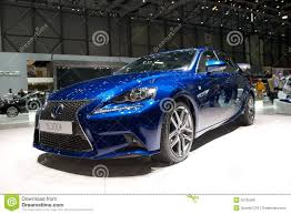lexus is300h blue lexux is 300h 2014 editorial stock image image 29706409