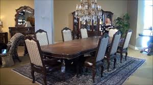 victoria palace rectangular double pedestal dining room table by