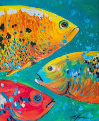 Paint Colorful - 25 beautiful fish paintings ideas on pinterest fish drawings