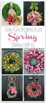 six gorgeous spring wreaths to dress up your front door driven