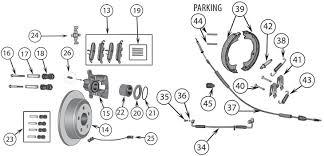 jeep grand rear brakes jeep grand wk rear brake parts 05 10 quadratec