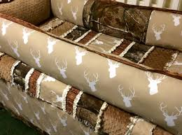 Western Baby Crib Bedding by Custom Camo And Deer 4 Pc Baby Bedding