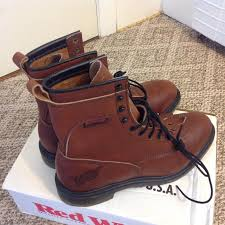 s lace up boots size 12 wing 2424 comfort lace up boots size 8 1 2 d ebay