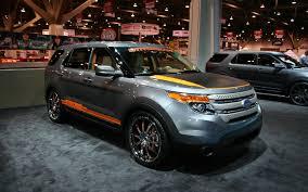 Ford Explorer Blacked Out - 2011 ford explorer sema 2011 motor trend