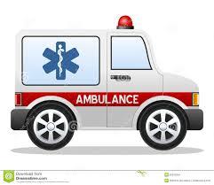 cartoon ambulance car stock images image 22915564