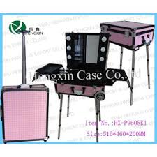 Make Up Vanity Case Aluminum Makeup Vanity Case With Light Manufacturer From Jinhua China