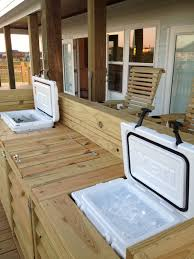Decorative Coolers For The Patio by Now That U0027s A Bar Built In Tundra 45 For Drinks And Roadie 20 For